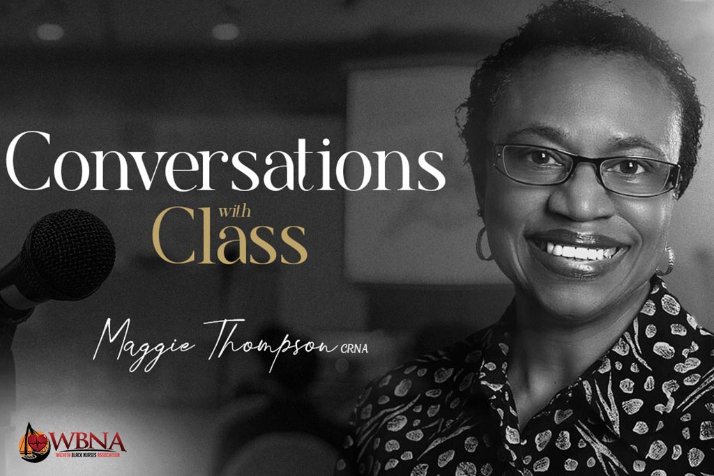 Converstation with Class with Maggie Thompson